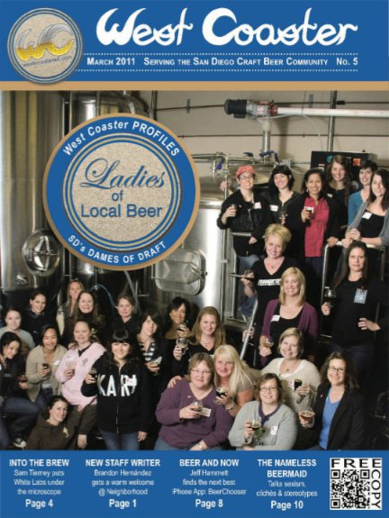 03.11 West Coaster – Ladies of Local Beer
