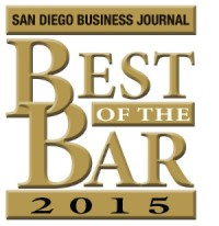 4.13.2015 Best of the Bar 2015 – San Diego Business Journal