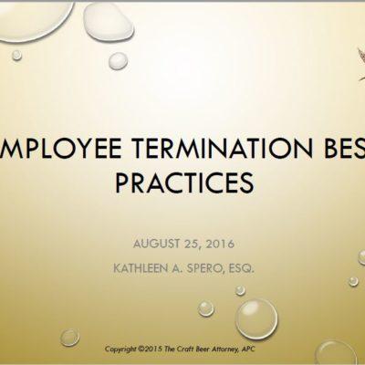 Employee Terminations